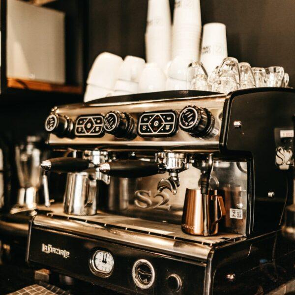 Foto eines Kaffeevollautomaten