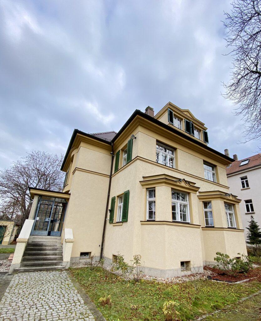 Außenansicht unseres Bürogebäudes in Markkleeberg